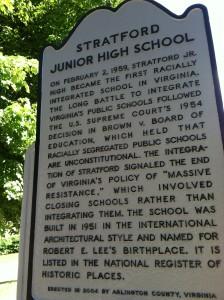 Stratford Junior High School (currently H. B. Woodlawn school)