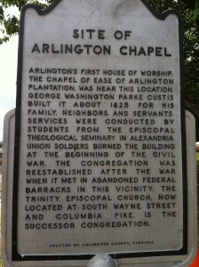 Site of Arlington Chapel