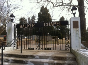 Walker Chapel Gates