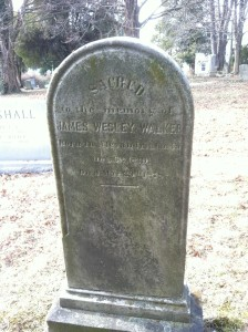 James Wesley Walker grave