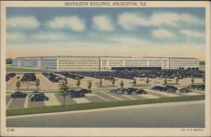 Postcard of the Pentagon, 1944