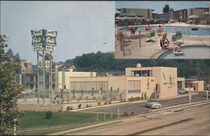 South Gate Motor Hotel, 1960