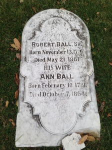 Robert Ball Sr. and his wife, Ann Ball
