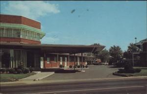 Clarendon Hotel Court, 3824 Wilson Boulevard, 1970.